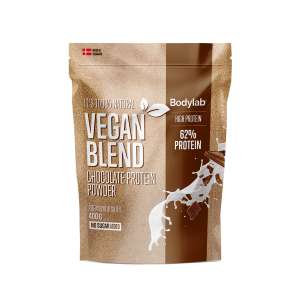 bodylab vegansk proteinpulver chokolade 400g