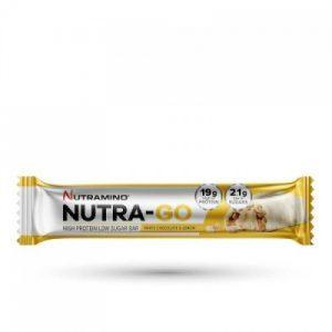 Nutramino Nutra-go proteinbar white chocolate lemon (1 stk)