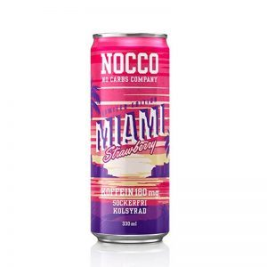 NOCCO BCAA Miami Strawberry 330ml