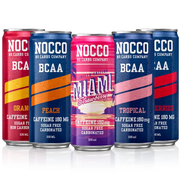 NOCCO BCAA bland selv - 24 stk