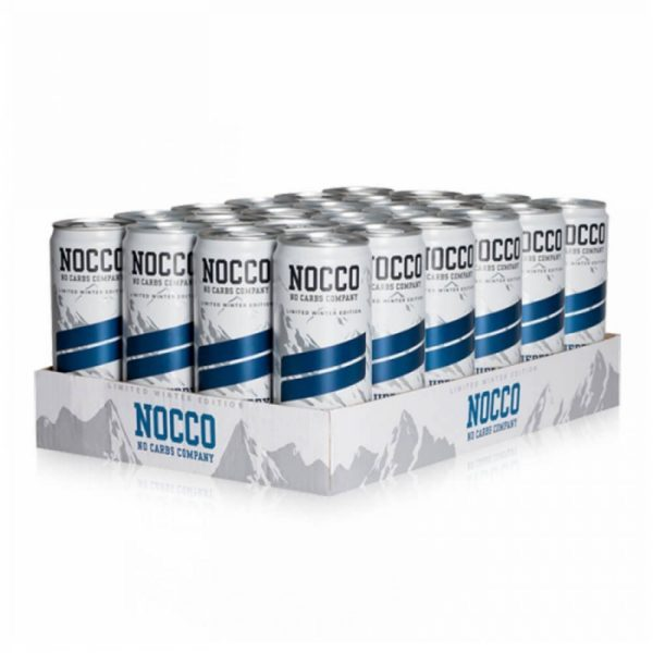 Nocco-BCAA-Blueberry 330ml-24-stk