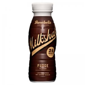 Barebells protein milkshak fudge flavor-p