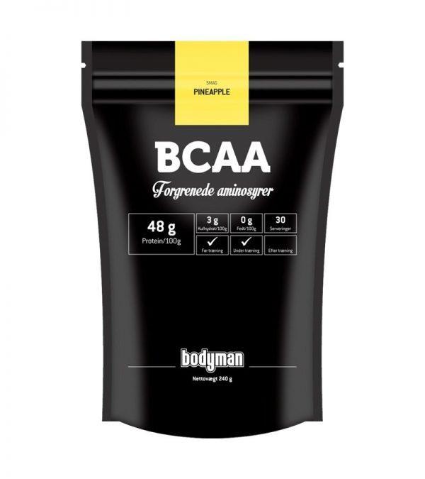 Bodyman BCAA Pineapple 240g