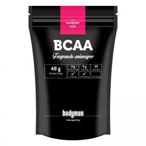 Bodyman BCAA Raspberry Soda 240g